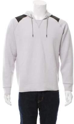 Lanvin Hooded Neoprene Sweatshirt