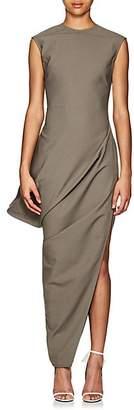 Rick Owens Women's Walrus Crepe Asymmetric Dress - Dust