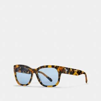 Coach Eli Rexy Square Sunglasses