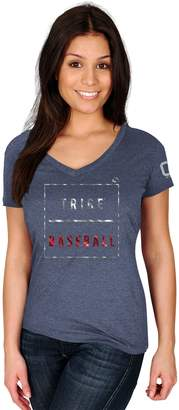 Majestic Women's Cleveland Indians Cut Off Tee