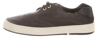 OSKLEN Perforated Low-Top Sneakers