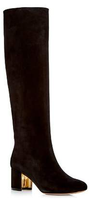 Salvatore Ferragamo Women's Vetto Suede Boots