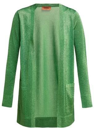 Missoni Lame Knit Cardigan - Womens - Green