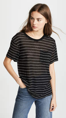 Alexander Wang Short Sleeve Pocket Tee