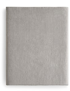 Amalia Home Collection's Stonewashed Linen Fitted Sheet, Queen - 100% Exclusive