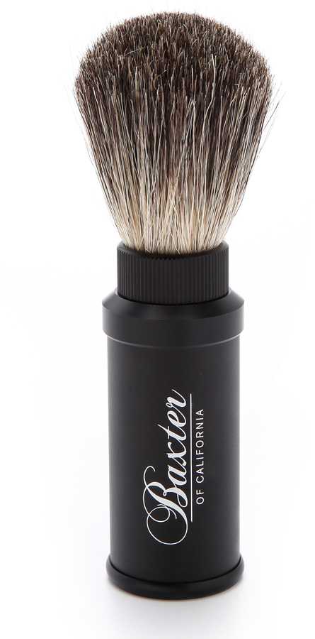 Baxter Of CaliforniaBaxter of California Aluminum Travel Shave Brush