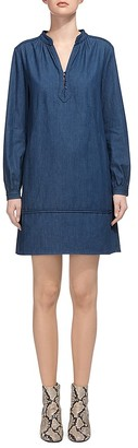 Whistles Jocelyn Denim Shirt Dress $230 thestylecure.com