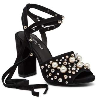 Kenneth Cole New York Deandra Embellished Lace-Up Sandal
