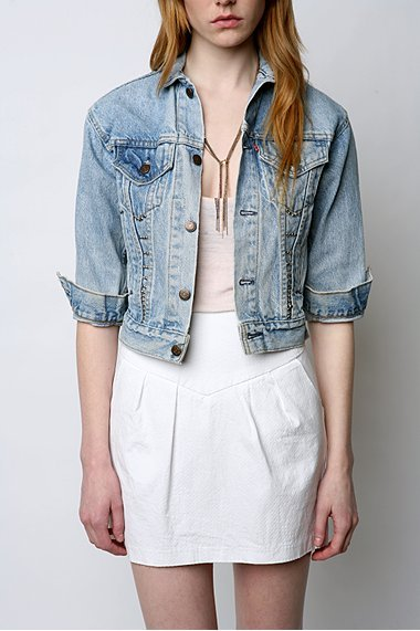 Urban Renewal Studded Denim Jacket