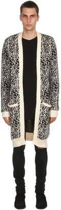 Victoria's Secret The People ZINNER ANIMALIER INTARSIA CARDIGAN