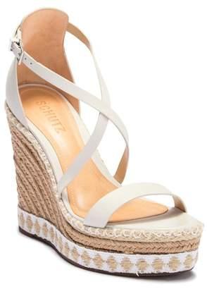 Schutz Beckett Strappy Wedge Sandal