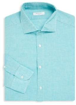 Boglioli Regular-Fit Spread Collar Dress Shirt