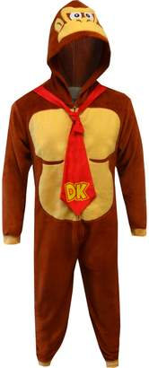 Nintendo Super Mario Donkey Kong Onesie Pajama for men (Large/X-Large)