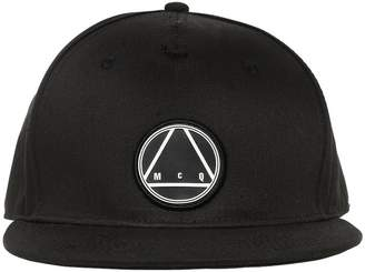 McQ 3d Patch Baseball Cotton Hat