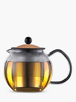Bodum Assam Tea Press Filter With Cork Lid, 500ml