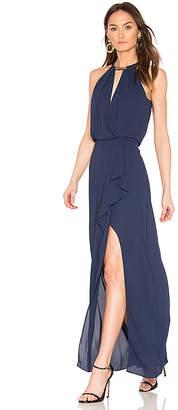 BCBGMAXAZRIA Amanda Gown in Blue $338 thestylecure.com
