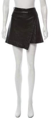 Cushnie et Ochs Textured Mini Skirt
