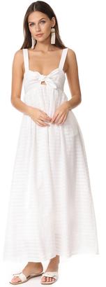Mara Hoffman Tie Front Maxi Dress $325 thestylecure.com