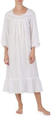 Eileen West Long Ballet Neck Night Gown