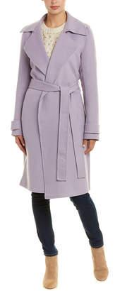 Badgley Mischka Double Face Wool-Blend Coat