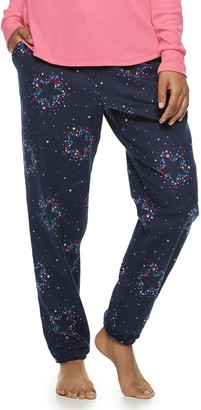 Sonoma Goods For Life Women's SONOMA Goods for Life Cuffed Flannel Pajama Pants