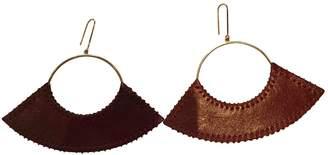 Celine Leather Earrings