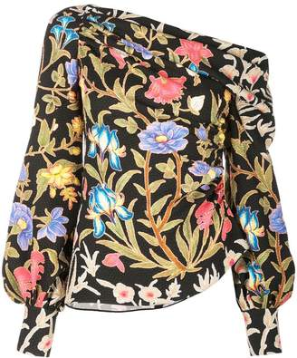 Peter Pilotto botanical blouse