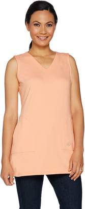 Linea By Louis Dell'olio by Louis Dell'Olio Knit V-Neck Tunic Tank