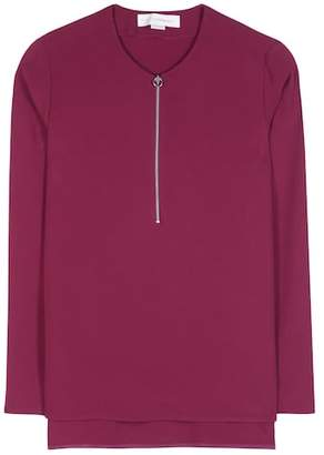 Stella McCartney Arlesa crêpe top