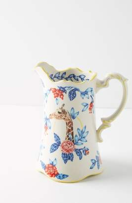 Anthropologie Nature Table Pitcher