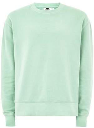 Topman Mens Green Mint Sweatshirt
