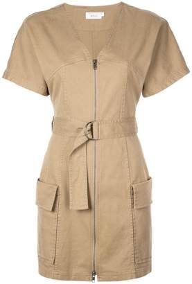 A.L.C. zip front mini dress