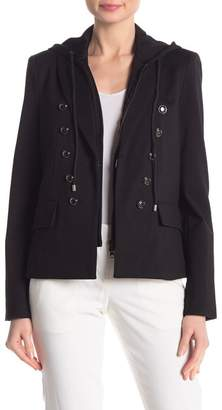 Central Park West Double Breasted Dickie Blazer Jacket