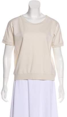 Dries Van Noten Short Sleeve Terry Cloth Sweatshirt