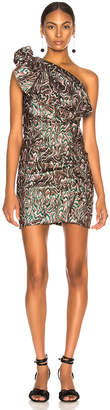 Isabel Marant Synee Dress in Green | FWRD