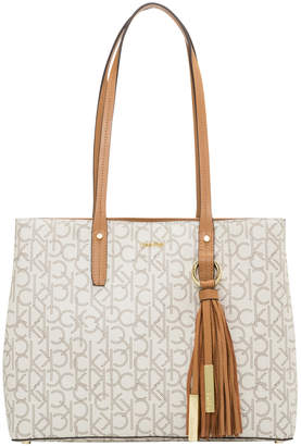 Calvin Klein Maggie Double Handle Tote Bag H8AAJ7ZJ_AMK