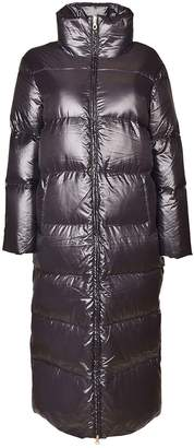 Duvetica High Collar Long Padded Jacket