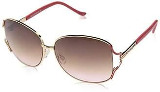 Rocawear Women's R575 GLDCR Shield Sunglasses