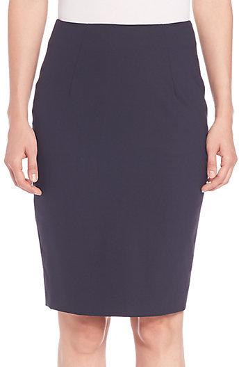 HUGO BOSS Cotton A-Line Skirt