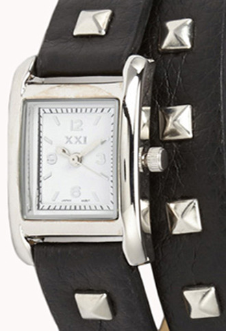Forever 21 Studded Wrap Around Watch