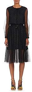 Philosophy di Lorenzo Serafini Women's Star-Print Tulle Midi-Dress