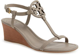 28157893b Tory Burch Miller Wedge Sandal
