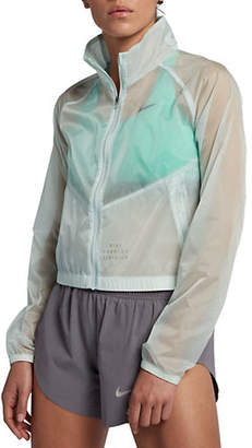 Nike Transparent Packable Running Jacket