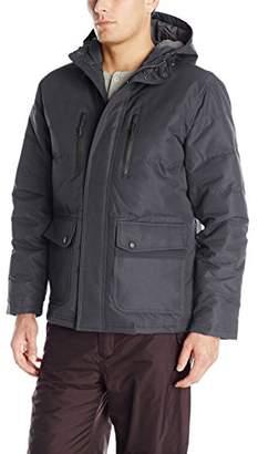 London Fog Men's Boardman Anorack Jacket Attached Hood