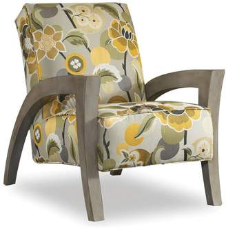 SAM. Moore Grasshopper Exposed Wood Chair, Quartz