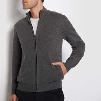 La Redoute COLLECTIONS Lambswool Zip-Up Cardigan