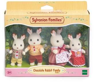 Sylvanian Families Girls Chocolate Rabbit Family