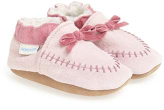 Robeez R) Cozy Moccasin Crib Shoe