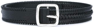 DSQUARED2 weaving belt