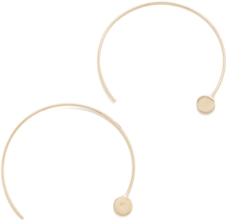 Jules Smith Amos Hoop Earrings $40 thestylecure.com